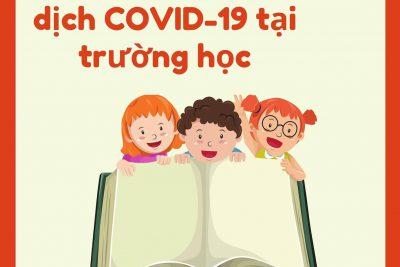 SỔ TAY PHÒNG CHỐNG COVID-19 TRONG TRƯỜNG HỌC